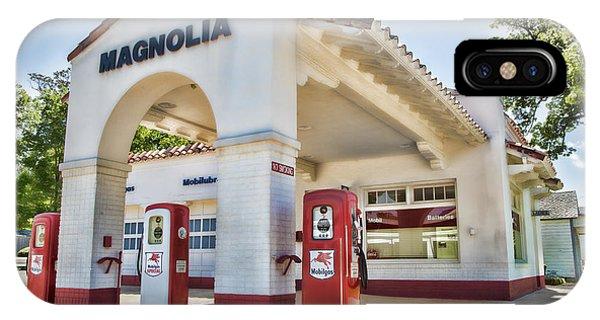 Magnolia Gas - Little Rock IPhone Case