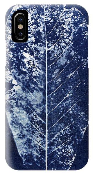 Spines iPhone Case - Magnolia Leaf Skeleton by Elspeth Ross