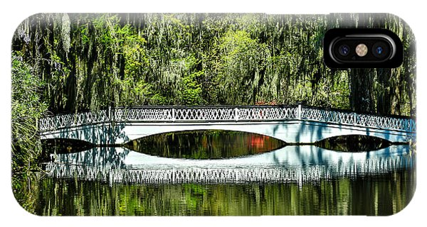 Magnolia Plantation Bridge - Charleston Sc IPhone Case