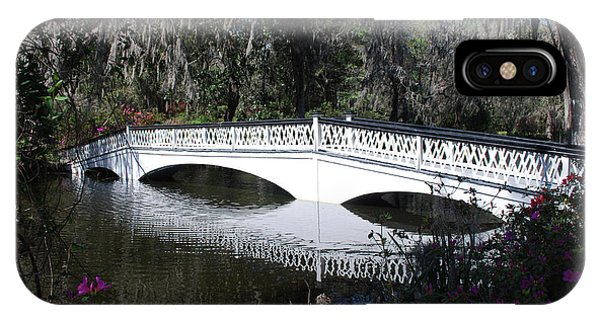 Magnolia Plantation Bridge IPhone Case
