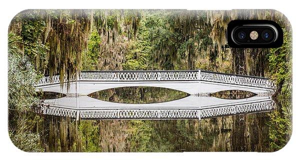 Magnolia Plantation Gardens Bridge IPhone Case