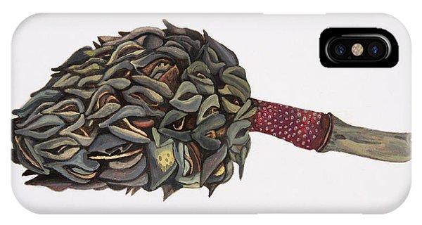 Magnolia Seedpod IPhone Case