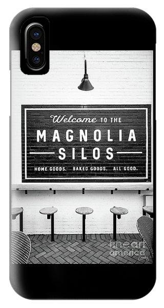 Magnolia Silos Baking Co. IPhone Case