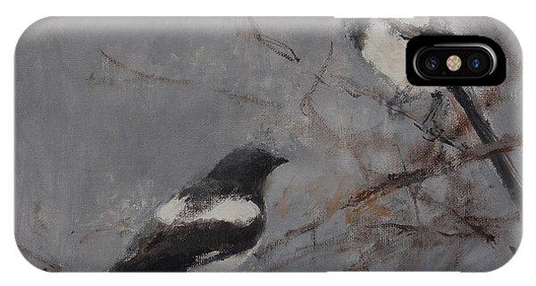Magpies IPhone Case