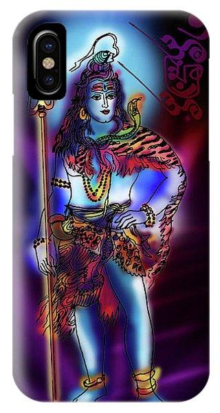 Maheshvara Sadashiva IPhone Case
