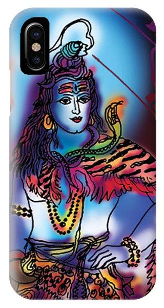 Maheshvara Shiva IPhone Case