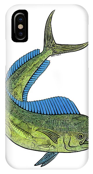 Mahi II IPhone Case