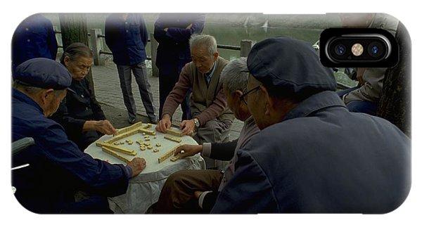 Mahjong In Guangzhou IPhone Case