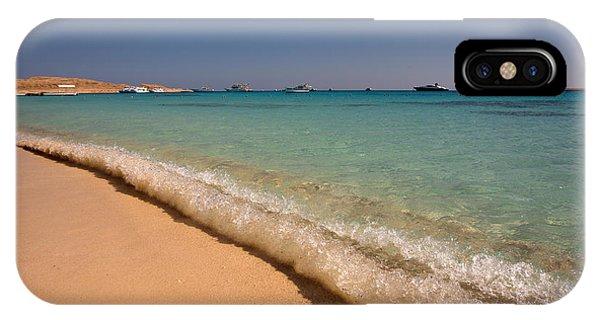 Mahmya Island Beach Waves IPhone Case