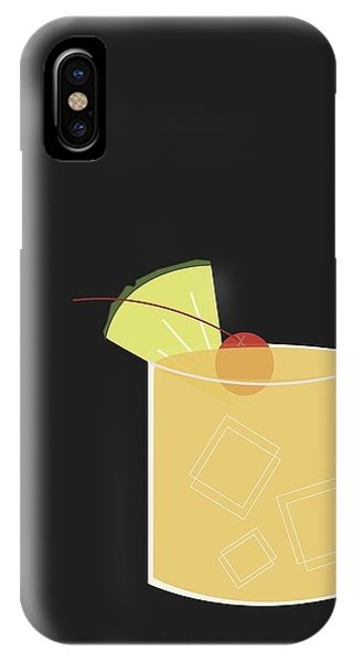 Beverage iPhone Case - Mai Tai  by Julia Garcia