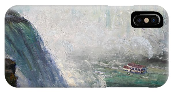 Waterscape iPhone Case - Maid Of The Mist by Ylli Haruni