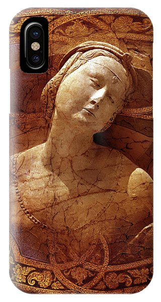 IPhone Case featuring the digital art Maiden Of The Shield by Louise Roach