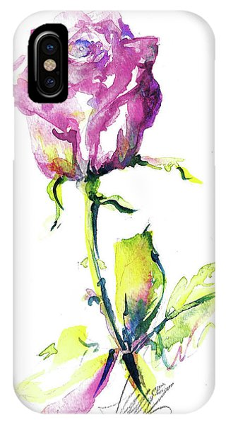 Maiden Rose IPhone Case