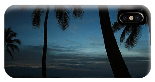 Ma'ili Beach After Sunset IPhone Case