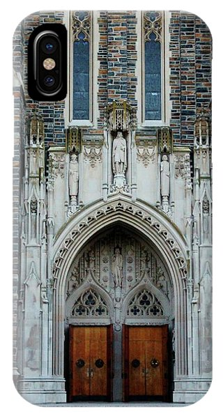 Main Entrance To Chapel IPhone Case