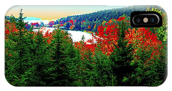IPhone Case featuring the photograph Maine Long Pond Acadia  by Tom Jelen
