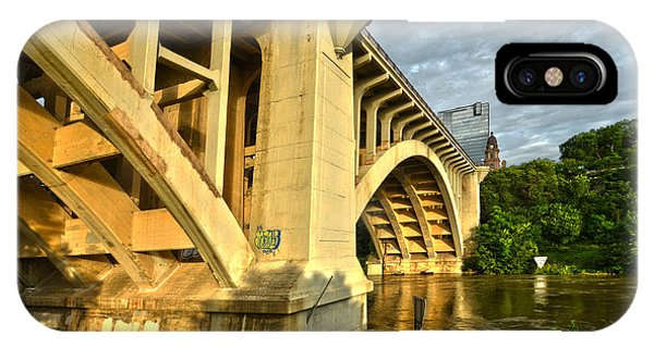 IPhone Case featuring the photograph Main St Bridge by Ricardo J Ruiz de Porras