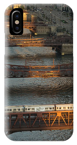 Chicago River iPhone Case - Main Stem Chicago River by Steve Gadomski