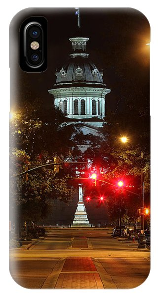 IPhone Case featuring the photograph Main Street by Joseph C Hinson Photography