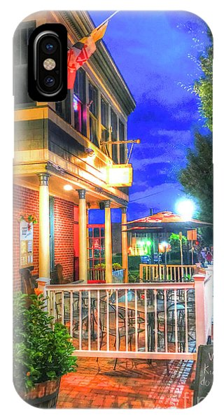 iPhone Case - Main Street Usa-bel Air, Md by Debbi Granruth