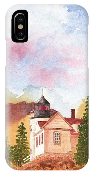 Maine Lighthouse In Morning Light IPhone Case