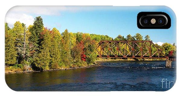 Maine Rail Line IPhone Case