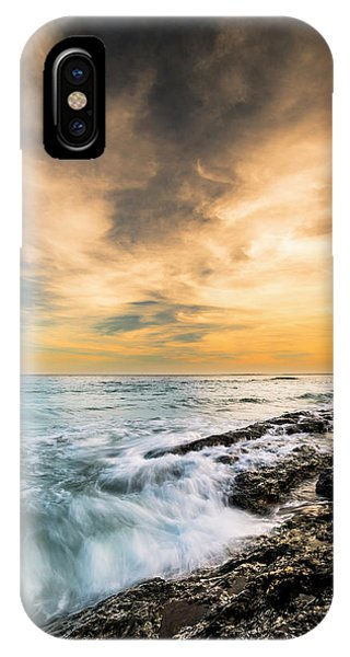 Maine Rocky Coastal Sunset IPhone Case
