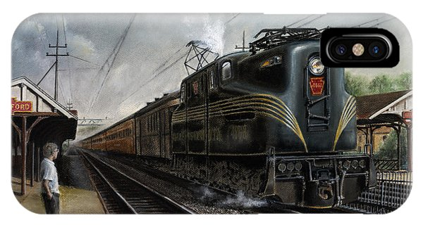 Trains iPhone Case - Mainline Memories by David Mittner