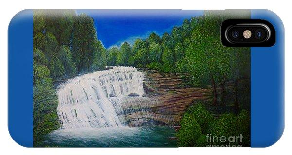 Majestic Bald River Falls Of Appalachia II IPhone Case