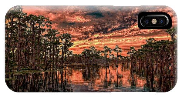 Majestic Cypress Paradise Sunset IPhone Case