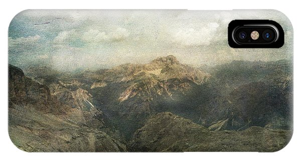 Majestic Dolomites IPhone Case