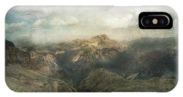 Majestic Dolomites IPhone Case