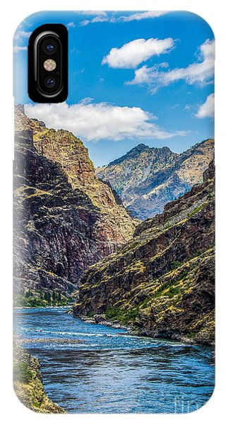 Majestic Hells Canyon Idaho Landscape By Kaylyn Franks IPhone Case