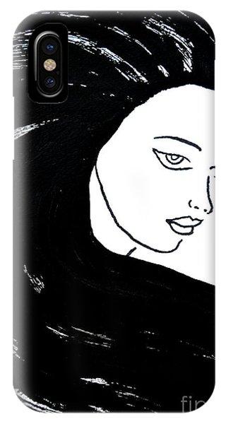 Majestic Lady J0715a IPhone Case