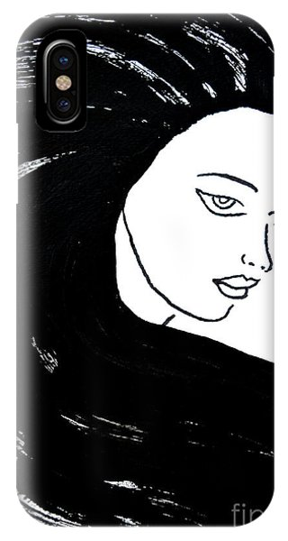 Majestic Lady J0715a IPhone Case