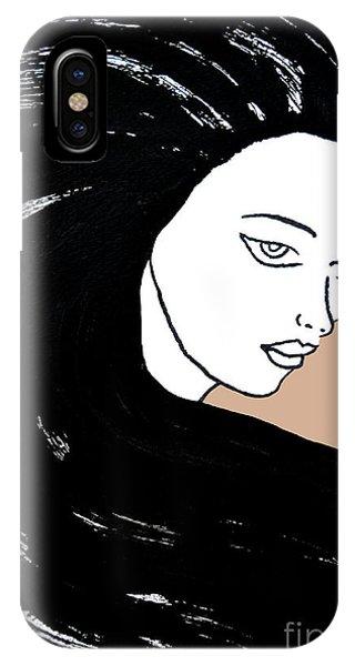 Majestic Lady J0715b IPhone Case