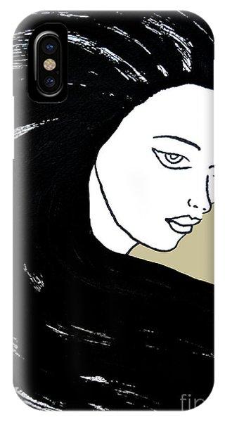 Majestic Lady J0715e Lemon Grass Green Pastel Painting 12-0626 Dcd494 C8c199 IPhone Case