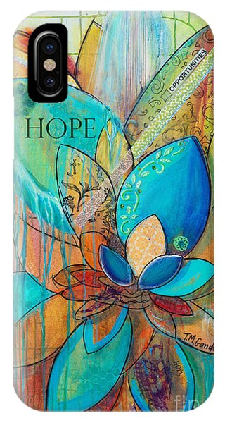 Spirit Lotus With Hope IPhone Case