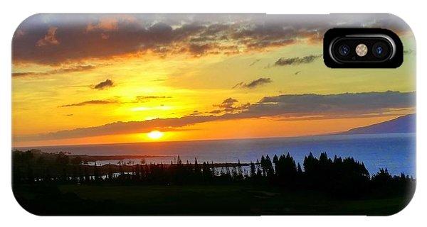 Majestic Maui Sunset IPhone Case