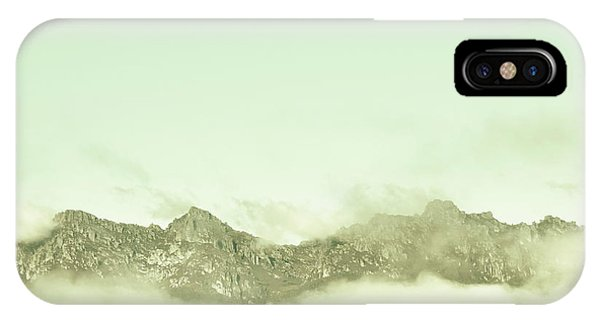 White Mountains iPhone Case - Majestic Misty Mountains by Jorgo Photography - Wall Art Gallery