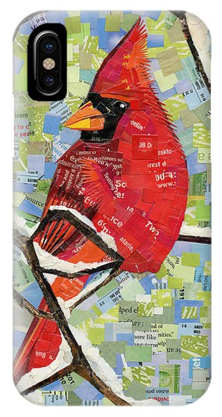 Majestic Red Cardinal  IPhone Case