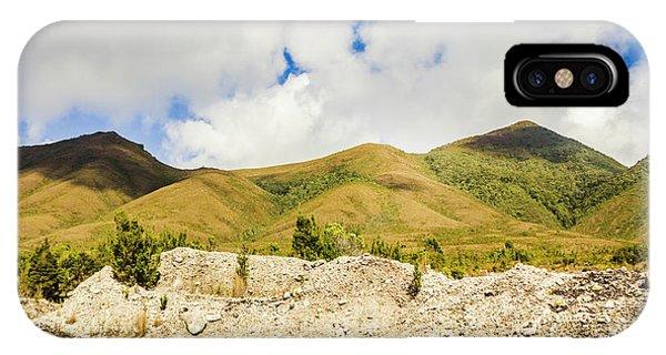 Mountainous iPhone Case - Majestic Rugged Australia Landscape  by Jorgo Photography - Wall Art Gallery