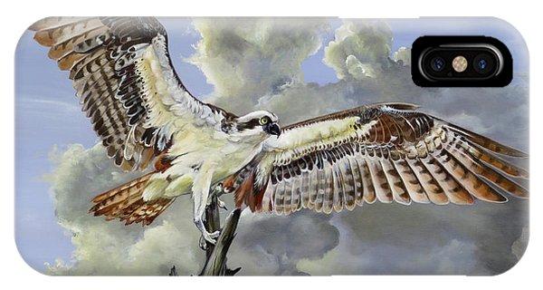Majestic Sea Hawk IPhone Case