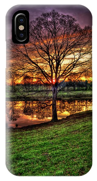 Majestic Sunrise Reflections Art IPhone Case