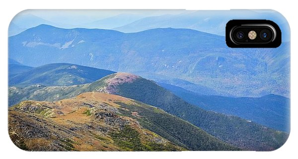 Majestic White Mountains IPhone Case