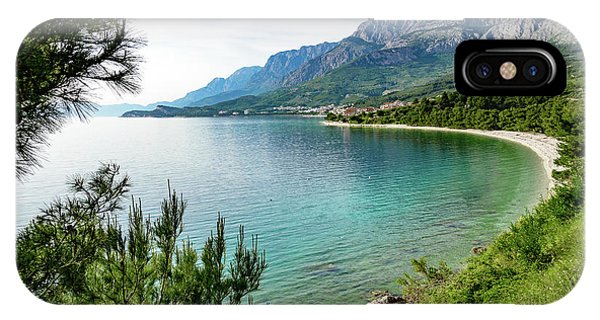 Makarska Riviera White Stone Beach, Dalmatian Coast, Croatia IPhone Case
