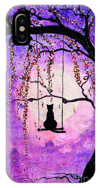 IPhone Case featuring the mixed media Make A Wish by Natalie Briney