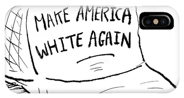 Make America White Again IPhone Case