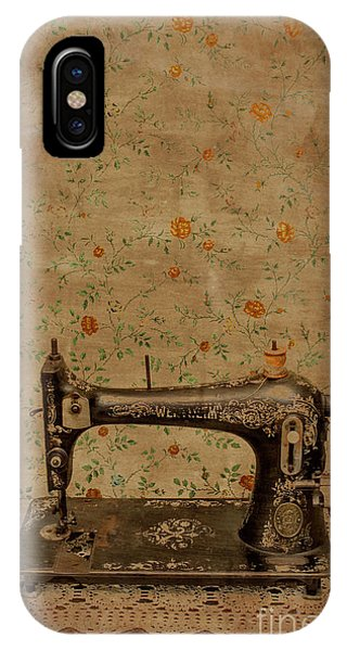 Old Fashioned iPhone Case - Make It Sew by Jorgo Photography - Wall Art Gallery