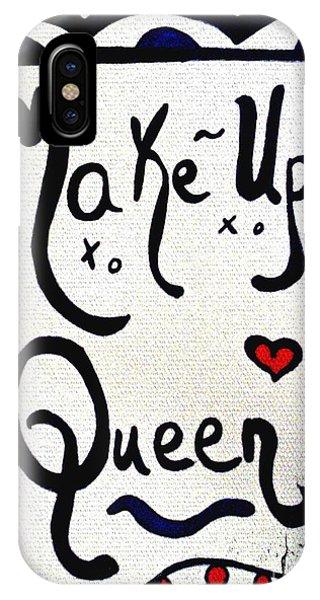 Make-up Queen IPhone Case